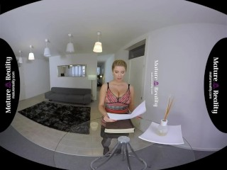 MatureReality - Busty Mom collects the rent