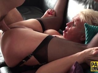Submissive GILF Hardcore Sex