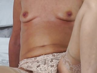Mature sexy mother with hairy old cunt