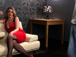 Kinky domina teases loser