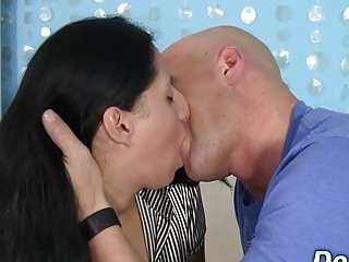 Ordinary Housewife Nadia Blu Gets a Hard Fucking in Her Mouth and Twat
