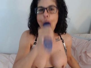 Awesome mature fucks deep her dirty talking mouth