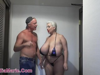 Claudia Marie Caught Escorting By Angry Husband