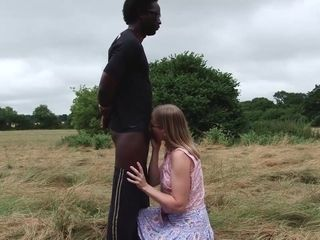 Young Black Cock In The Woods Pt1 - TacAmateurs