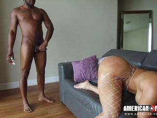 Chubby MILF Is Ready For Big Black Cock