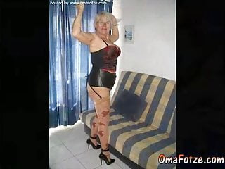 OmaFotzE Hot Aged Pussies Compilation Slideshow