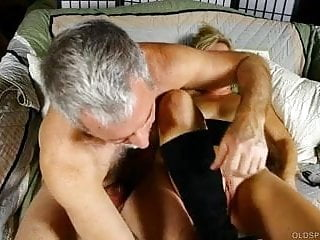 Sexy oldspunker in kinky boots enjoys a hardcore sex session