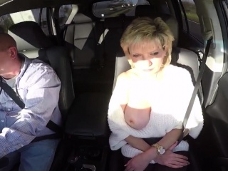 Adulterous british milf lady sonia exposes her large balloon