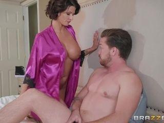 Housewife Joslyn fucked by husband's best friend in the morning