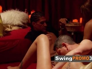 Red room steams up with horny mature couple wanting to fulfill fantasies