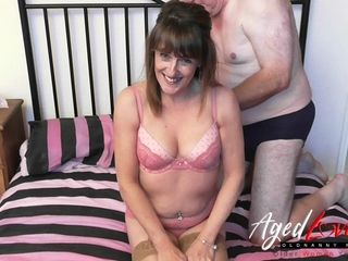 AgedLove sex orgy intimacy with very hot housewife Pandora