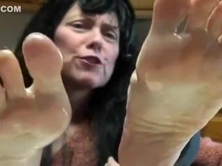 Crazy homemade Foot Fetish porn clip