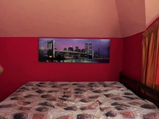 Redhead granny with saggy tits spoon fucked
