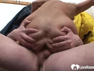 Blonde MILF gets some big hard dick