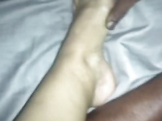 MIMOSA GETS DEEP CREAMPIE IN HER HAIRY MATURE PUSSY