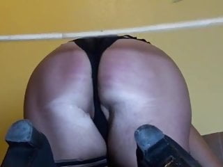 Slutwife caned belted fucked and whipped