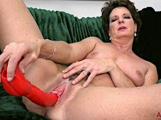 horny Granny Beth Mckenna solo video