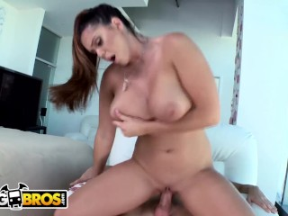 BANGBROS - Brunette With 36F Big Tits, Alison Tyler, Gets Smashed