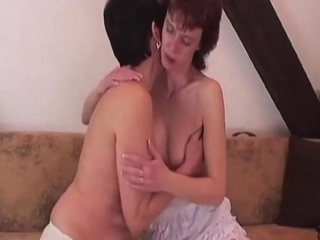 Horny Lez Matures in Hot Action