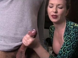 Dirty Aunt Handjob
