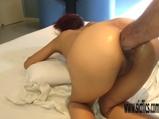 Double anal fisting Brazilian MILF