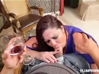 Big boobs mom fuck sons friend on a date