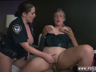 Police MILFs Threesome Sex