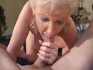 Granny swallowing cum, compilation