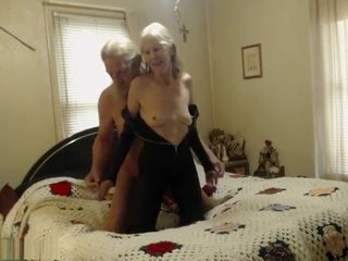 A Granny Is Fucked
