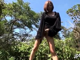 Raunchy asian bimbo gets juicy sissy fucked