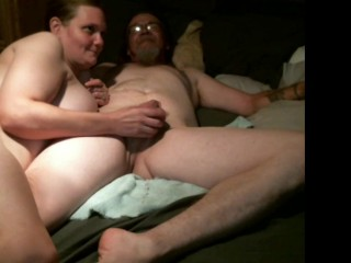 Homemade wife fisting husband (full session)