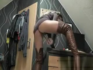 MILF Masturbating Using Her Adult Toy