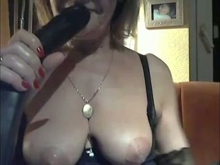 This mature woman has got to be the nastiest slut ever and she loves huge toys