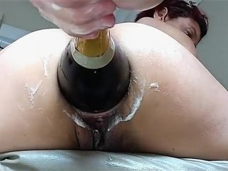 Wife asshole roughly fisted