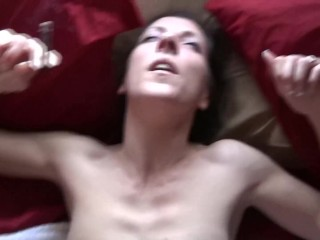 Marie Madison Smokes and Cums and Gets Thick Creampie