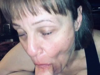 Mature Milf made me cum in her mouth hard & fast