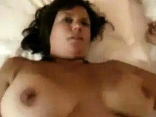 Friends mom has a nice hairy pussy