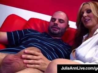 Hot Sex Hungry Milf Julia Ann Fucks Her Cum Spewing Student!