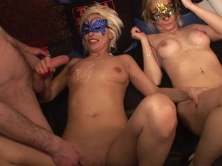 Masked Whores Group Sex