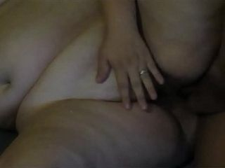 Horny pregnant mother gets pregnant pussy fucked hard and deep shooting a huge load of cum deep inside her fat pussy