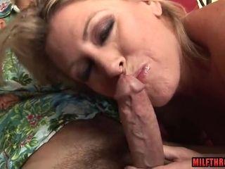 Lewd Mom Sucks Veiny Dick