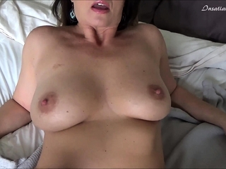 Mature With Massive Boobs Striptease