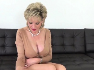 Unfaithful british milf lady sonia flashes her giant hooters