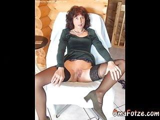 OmaFotzE Amateur Mature Lady Pictures Slideshow