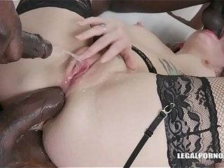London calling Adreena Winters for BBC cockshower &amp_ double pleasure IV161