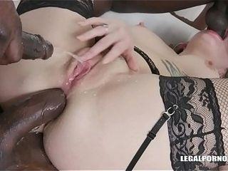 London calling Adreena Winters for BBC cockshower &amp_ double pleasure IV161