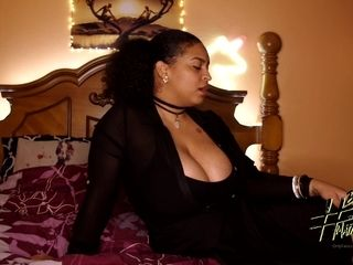 Ebony Cougar Milf Loves Giving stepSon Head