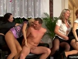Swinger Party With Banging And Pissing