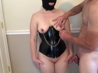 Milf Bondage Nipple Clamps and Wand Belt Orgasm S01E01